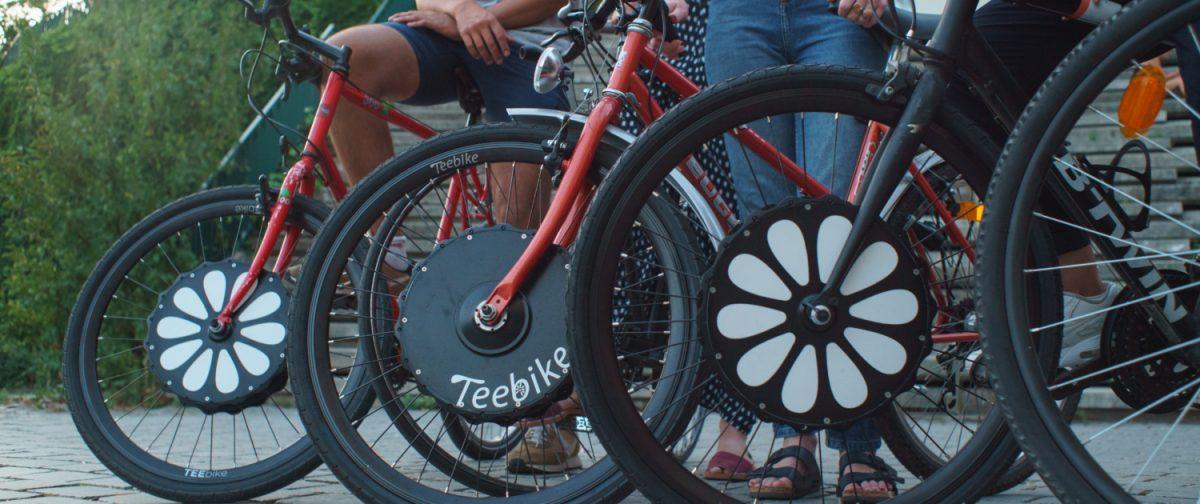 con teebike convierte tu bice en una bicicleta electrica