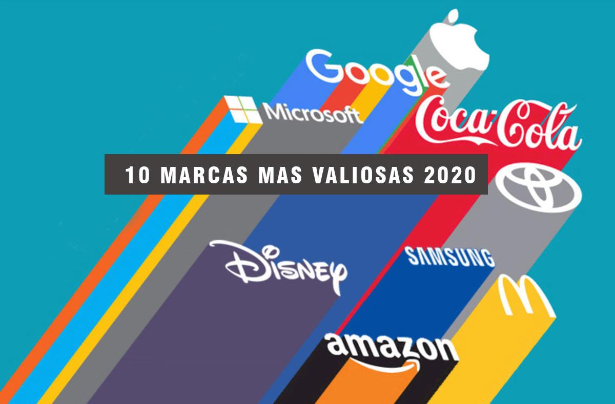 10 marcas mas valiosas del mundo 2020 videos