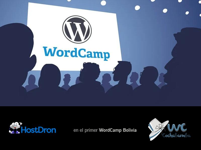 HostDron en el primer WordCamp de Bolivia